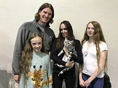 Amy, Family, and Loki